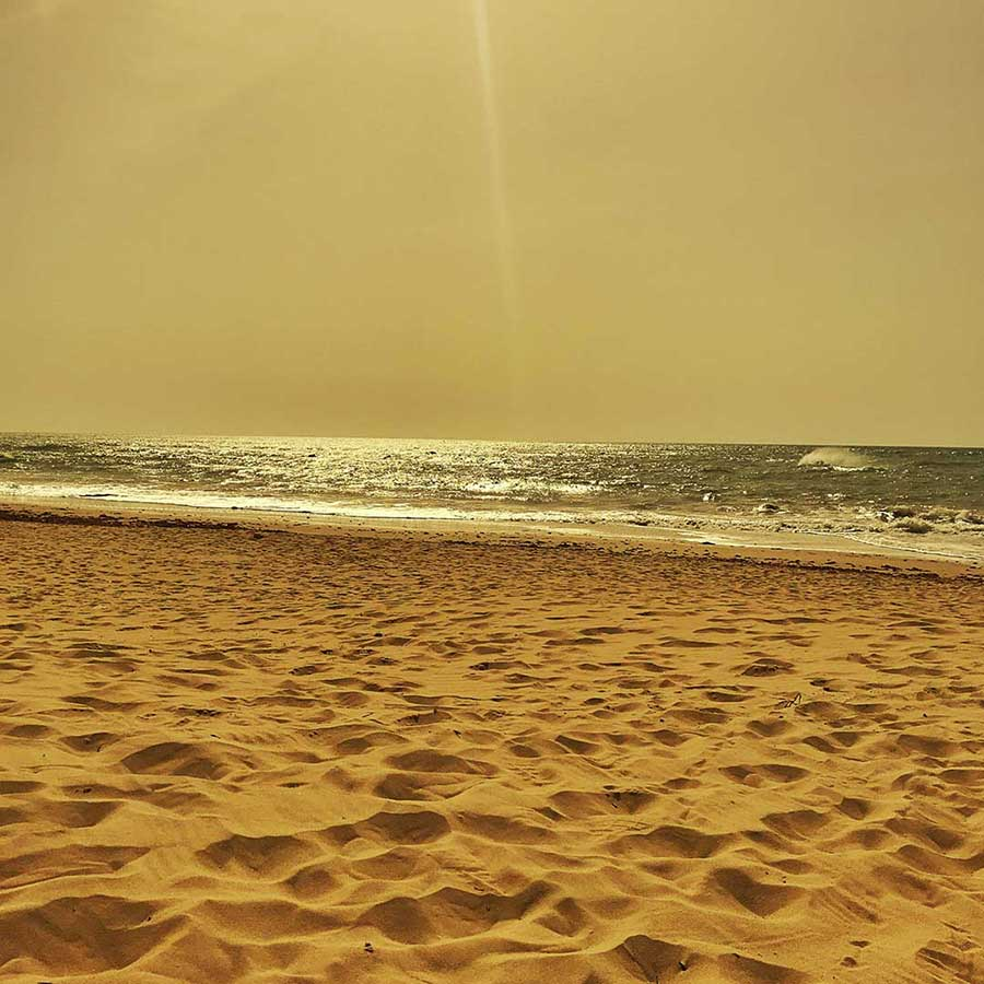 Playa Santa Maria del Marar à Cadiz - Photo Didier Laget